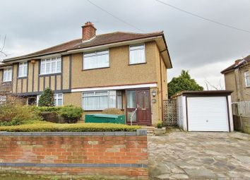 Thumbnail 3 bed semi-detached house for sale in Collier Row Road, Romford