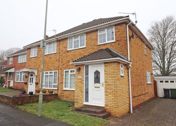 Thumbnail 3 bedroom semi-detached house to rent in Hastings Close, Basingstoke