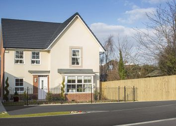 "Thumbnail 4 bedroom detached house for sale in ""Cambridge"" at Tregwilym Road, Rogerstone, Newport"