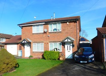 Thumbnail 2 bedroom semi-detached house for sale in Thoday Close, Broughton, Kettering