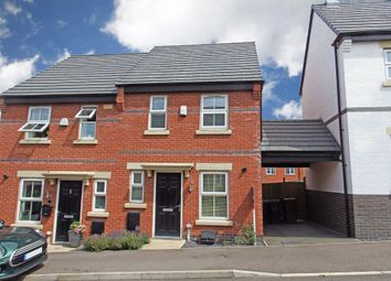 Thumbnail 2 bed semi-detached house to rent in Burtons Road, Rothley, Leicester