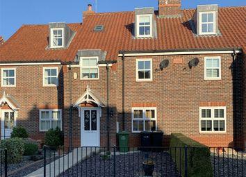 Thumbnail 3 bed terraced house for sale in Hall Close, Heacham, King's Lynn