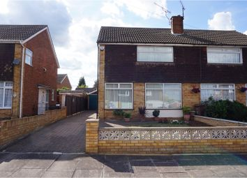 Thumbnail 3 bed semi-detached house for sale in Gransden Close, Luton