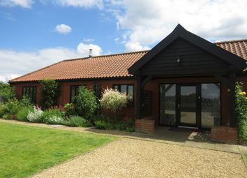 Thumbnail 4 bedroom detached bungalow for sale in Beech Croft, South Lopham, Diss