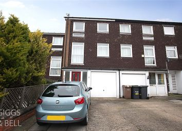 Thumbnail 4 bed terraced house for sale in Trowbridge Gardens, Luton, Bedfordshire