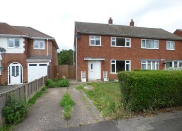 Thumbnail 3 bed terraced house for sale in Church Way, High Heath, Pelsall, Walsall
