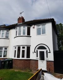 Thumbnail 3 bed semi-detached house to rent in Vicarage Road, West-Bromwich, West-Midlands