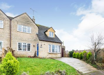 Thumbnail 3 bed semi-detached house for sale in Greens Close, Great Rissington, Cheltenham