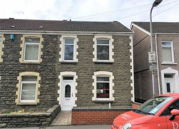 Thumbnail 3 bedroom end terrace house for sale in Armine Road, Swansea