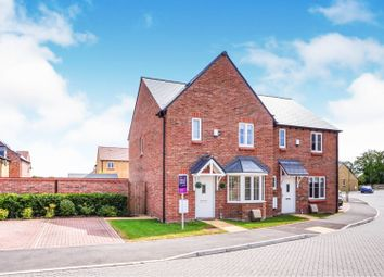 Thumbnail 3 bed semi-detached house for sale in Willow Farm, Marcham, Abingdon