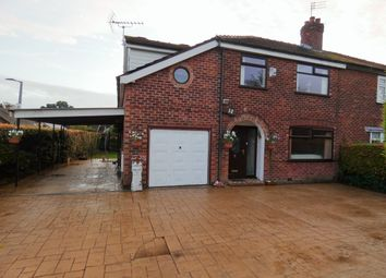Thumbnail 4 bed semi-detached house for sale in Aldwyn Crescent, Hazel Grove, Stockport