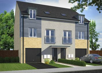 "Thumbnail 4 bed end terrace house for sale in ""The Wilton"" at Norwich Road, Wymondham"