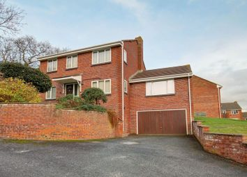 Thumbnail 5 bed detached house for sale in Stoke Valley Road, Exeter