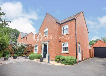 Thumbnail 4 bed detached house for sale in Aberdeen Close, Church Gresley, Swadlincote, Derbyshire