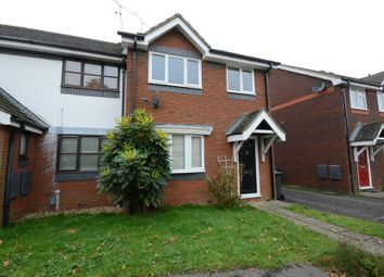 Thumbnail 3 bed end terrace house to rent in Nether Vell-Mead, Church Crookham, Fleet