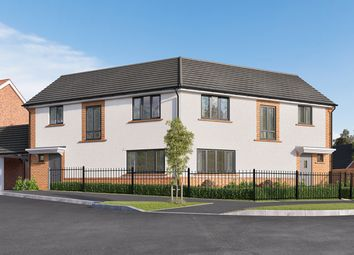 "Thumbnail 3 bed semi-detached house for sale in ""The Thorndon"" at Wycke Hill, Maldon"