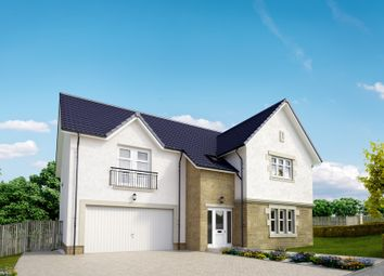 "Thumbnail 5 bed detached house for sale in ""The Moncrief"" at Peel Road, Thorntonhall, Glasgow"