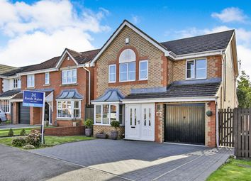 Thumbnail 4 bed detached house for sale in Dean Park, Ferryhill