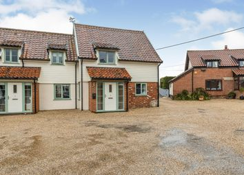 Thumbnail 3 bed semi-detached house for sale in Carleton Rode, Norwich, Norfolk