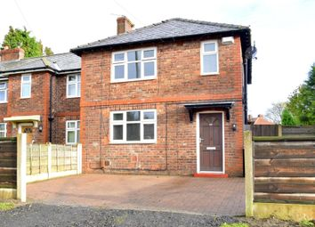 Thumbnail 3 bedroom end terrace house for sale in Fiddlers Lane, Irlam, Manchester, Greater Manchester