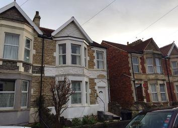 Thumbnail 2 bed flat to rent in Mendip Road, Weston Super Mare