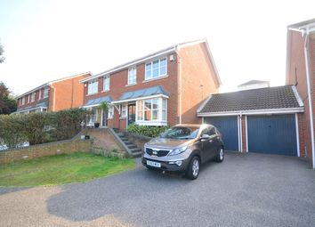 Thumbnail 3 bed semi-detached house to rent in Cagney Close, Wainscott, Rochester