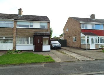 Thumbnail 3 bed semi-detached house to rent in Bondene Grove, Stockton-On-Tees