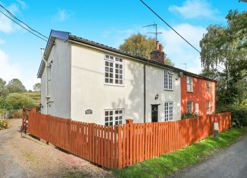 Thumbnail 4 bed semi-detached house for sale in Low Road, Earl Soham, Woodbridge