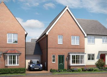 "Thumbnail 3 bedroom property for sale in ""The Elmswell"" at Yarrow Walk, Red Lodge, Bury St. Edmunds"