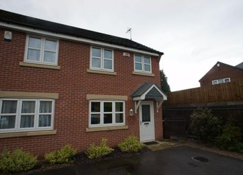 Thumbnail 2 bed semi-detached house to rent in Avalon Drive, Chellaston, Derby
