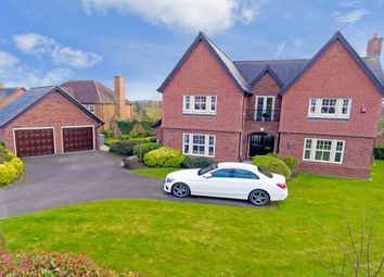 Thumbnail 5 bed detached house for sale in Ashbourne Drive, Wychwood Park, Weston