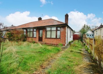 Thumbnail 2 bed semi-detached bungalow for sale in Hillcrest Road, Thorpe St. Andrew, Norwich