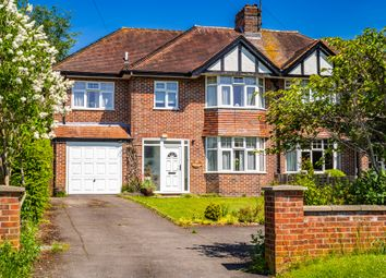 Thumbnail 5 bed semi-detached house for sale in Gethrange, Goring On Thames