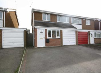 Thumbnail 3 bedroom semi-detached house to rent in Cheviot Rise, Leamington Spa