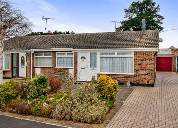 Thumbnail 2 bed semi-detached bungalow for sale in Castle Close, Weeting, Brandon