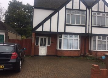 Thumbnail 4 bed semi-detached house to rent in Lewsey Road, Luton