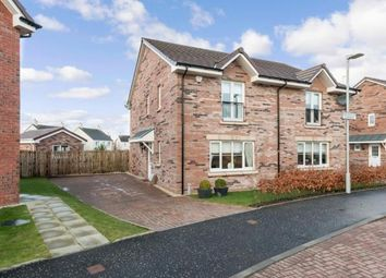 Thumbnail 3 bedroom semi-detached house for sale in Adlington Gardens, Troon, South Ayrshire, Scotland
