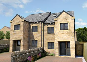 Thumbnail 4 bed semi-detached house for sale in Mill Moor Road, Meltham, Holmfirth