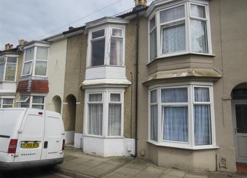 Thumbnail 3 bedroom terraced house for sale in Cressy Road, Portsmouth