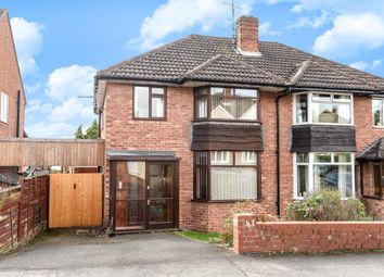 Thumbnail 3 bedroom semi-detached house for sale in Aylestone Hill, Hereford City