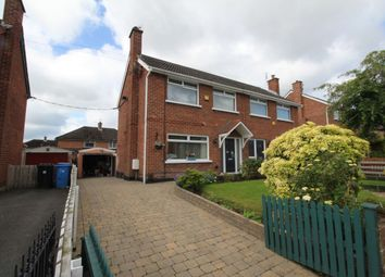 Thumbnail 3 bed semi-detached house for sale in Inglewood Park, Bangor