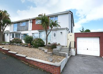 Thumbnail 3 bed semi-detached house for sale in Springfield Close, Elburton, Plymouth