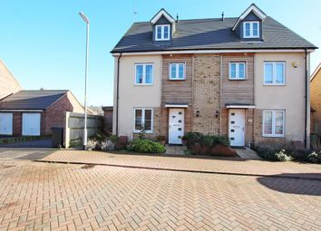 Thumbnail 4 bed semi-detached house for sale in Grebe Drive, Leighton Buzzard