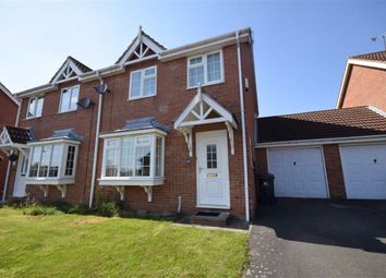 Thumbnail 3 bed semi-detached house to rent in Edensor Drive, Belper