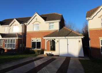 Thumbnail 3 bed detached house for sale in Bonington Crescent, Billingham