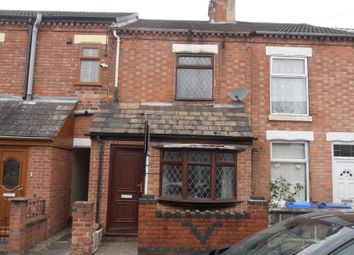 Thumbnail 3 bed terraced house for sale in Grange Street, Burton-On-Trent, Staffordshire