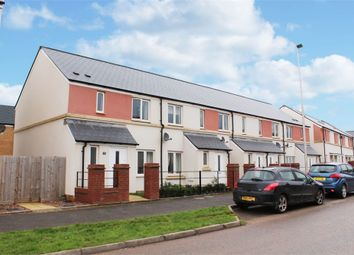 Thumbnail 3 bed end terrace house for sale in Tillhouse Road, Cranbrook, Exeter, Devon