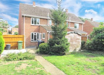 Thumbnail 2 bed semi-detached house for sale in Liberator Road, Upwood, Huntingdon