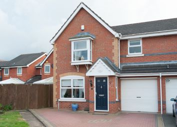 Thumbnail 3 bed semi-detached house to rent in Celandine, Kettlebrook, Tamworth
