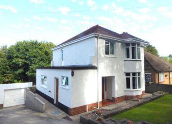 Thumbnail 3 bedroom detached house for sale in Slade Gardens, West Cross, Swansea, West Glamorgan.